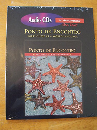 9780136130055: Audio CDs for Ponto de Encontro: Portuguese as a World Language