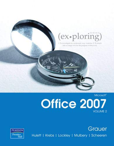 9780136130376: Exploring Microsoft Office 2007 Volume 2 (Exploring Series)
