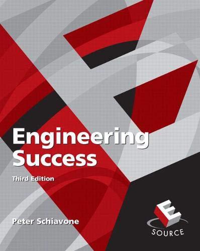 9780136130536: Engineering Success (3rd Edition)