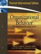 9780136131458: Organizational Behavior: An Experiential Approach: International Edition