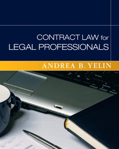 9780136131786: Contract Law for Legal Professionals