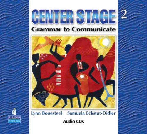 9780136133308: Center Stage 2: Grammar to Communicate, Audio CD