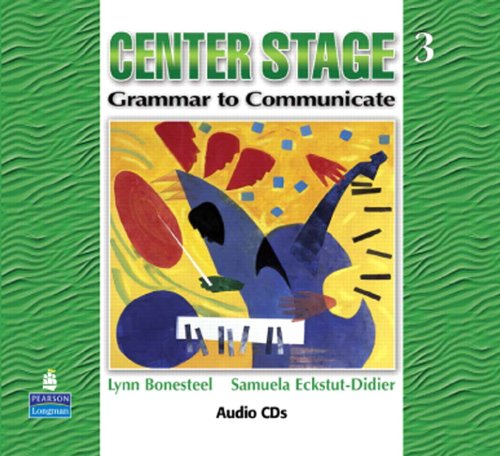 9780136133582: Center Stage 3: Grammar to Communicate, Audio CD