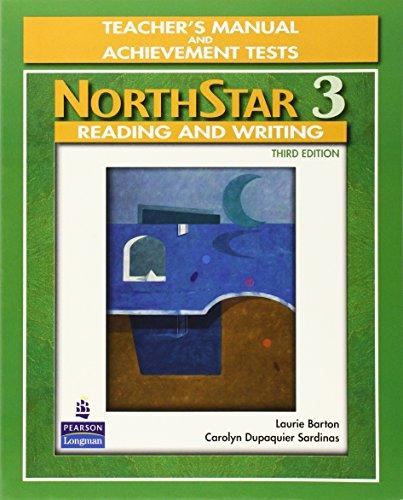 Northstar r/w 3 intermed 3/e teacher's bk/test: Laurie Barton Carolyn