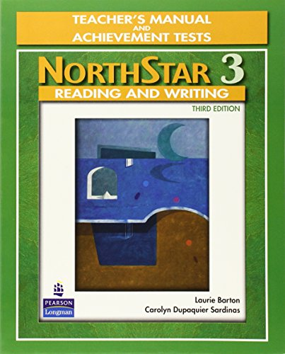 9780136133698: NorthStar, Reading and Writing 3, Teacher's Manual and Unit Achievement Tests