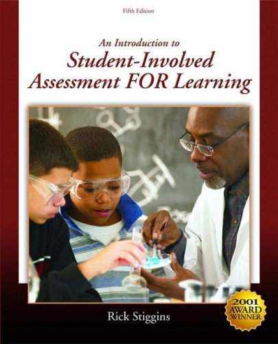9780136133957: Introduction to Student-Involved Assessment for Learning, An (5th Edition)
