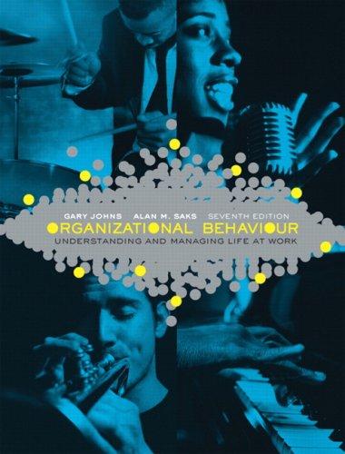 9780136134367: Organizational Behaviour: Understanding and Managing Life at Work