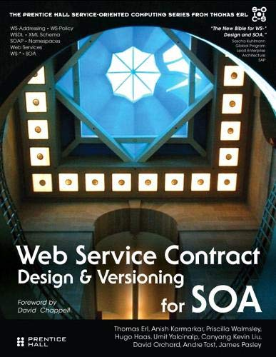 9780136135173: Web Service Contract Design for SOA (Prentice Hall Service-Oriented Computing Series from Thomas Erl)