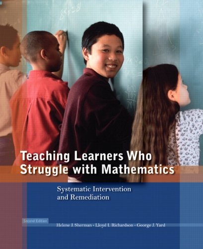9780136135777: Teaching Learners Who Struggle with Mathematics: Systematic Intervention and Remediation