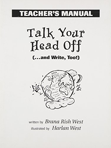 9780136136057: Talk Your Head Off (...and Write, Too!) - Teacher's Manual