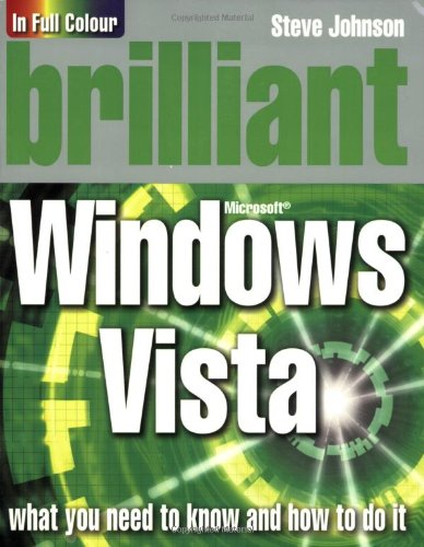 9780136136774: Brilliant Windows Vista