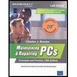 9780136136828: Maintaining & Repairing PCs: Lab Manual