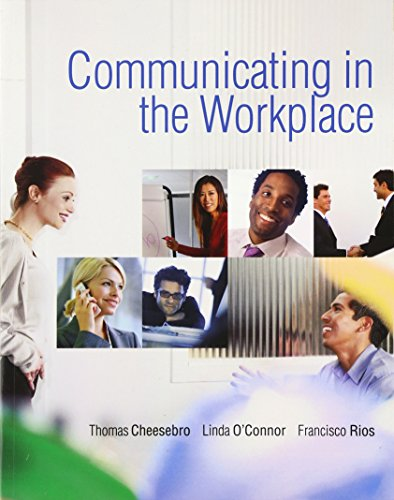 9780136136910: Communicating in the Workplace (Pearson Custom Business Skills)