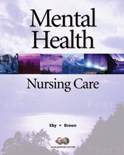 9780136136927: Mental Health Nursing Care (2nd Edition)