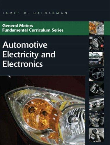9780136137436: Automotive Electricity and Electronics (General Motors Fundamental Curriculum Series)