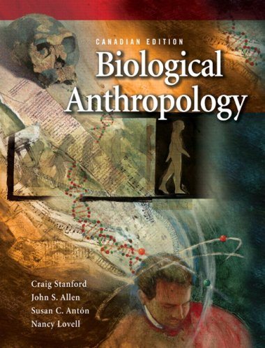9780136139126: Biological Anthropology, Canadian Edition