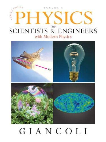 9780136139232: Physics for Scientists & Engineers Vol. 1 (Chs 1-20) with Mastering Physics (4th Edition)