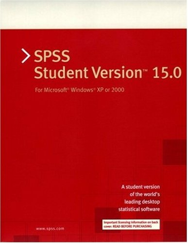 9780136139492: SPSS 15.0 Student Version for Windows-VP