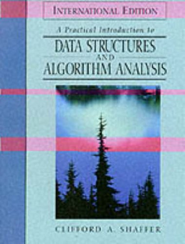 9780136139690: A Practical Introduction to Data Structures and Algorithm Analysis
