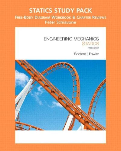 9780136140023: Engineering Mechanics: Statics Study Pack, Free-Body Diagram Workbook and Chapter Reviews