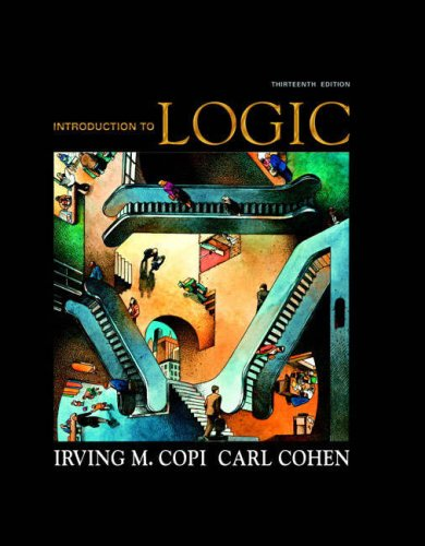 9780136141396: Introduction to Logic (13th Edition)