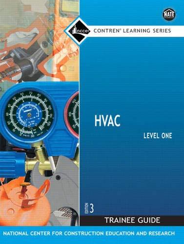 9780136144175: HVAC Level 1 Trainee Guide, 3e, Looseleaf (3rd Edition)