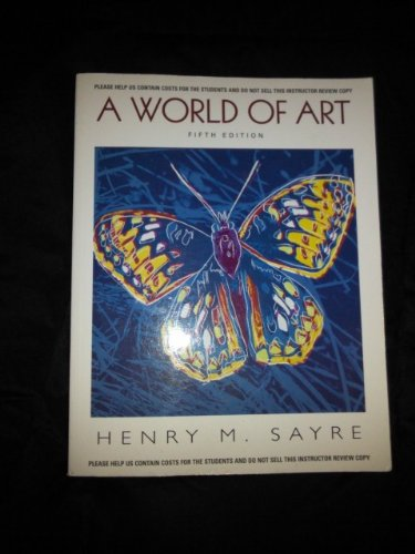 9780136144243: A World of Art w/cd