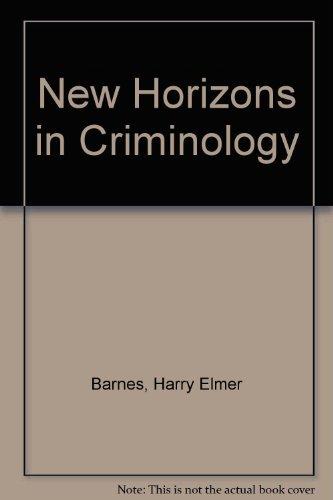 9780136144953: New Horizons in Criminology