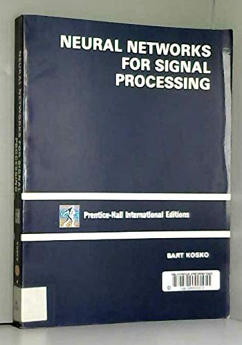 9780136146940: Neural Networks for Signal Processing
