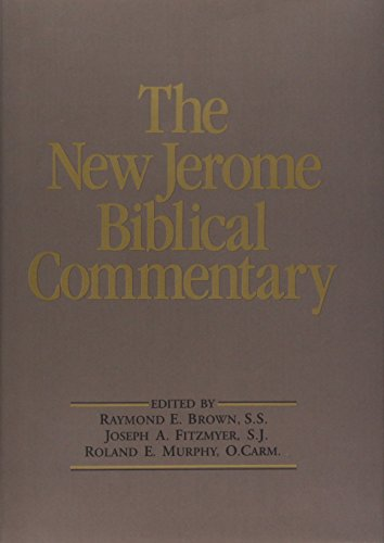 9780136149347: The New Jerome Biblical Commentary