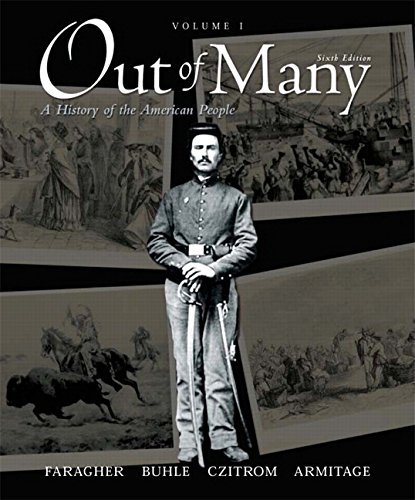 9780136149569: Out of Many, Volume 1 (6th Edition)