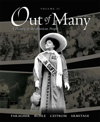 9780136149576: Out of Many, Volume 2 (6th Edition)