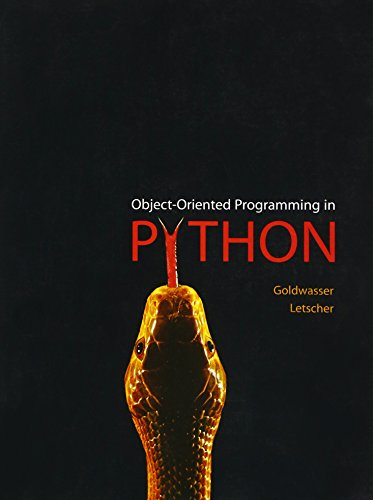 9780136150312: Object-Oriented Programming in Python