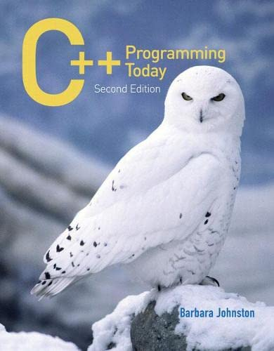 9780136150992: C++ Programming Today