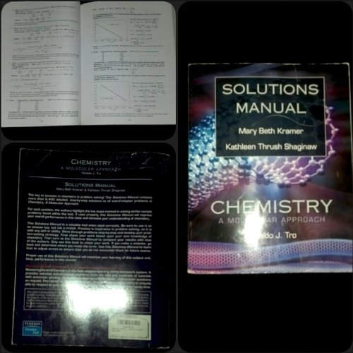 9780136151104: Chemistry: A Molecular Approach. Solutions Manual