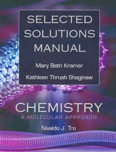 9780136151166: Selected Solutions Manual for Chemistry: A Molecular Approach