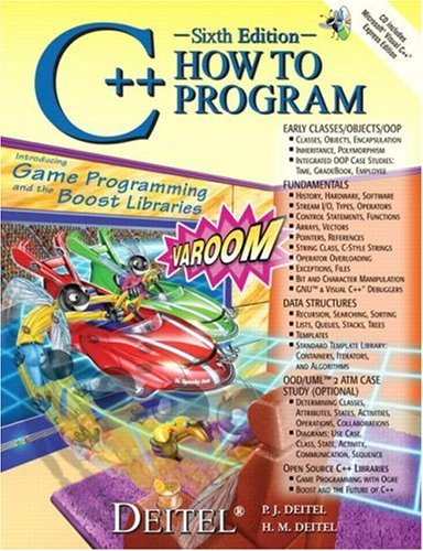 9780136152507: C++ How to Program (6th Edition)
