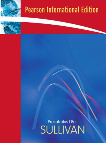 9780136152675: Precalculus: International Edition