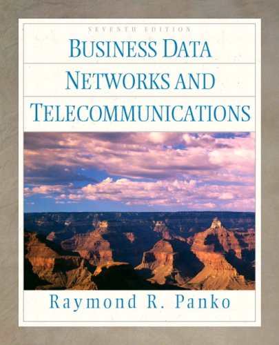 9780136153405: Business Data Networks and Telecommunications (7th Edition)
