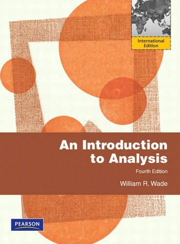 9780136153702: Introduction to Analysis