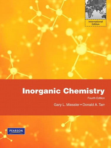 9780136153832: Inorganic Chemistry: International Edition