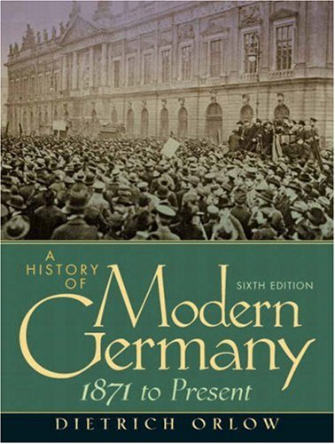 9780136154006: A History of Modern Germany