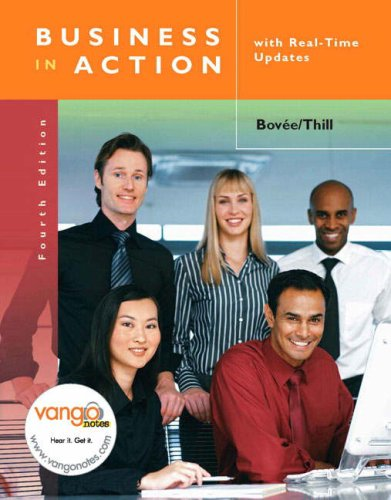 9780136154082: Business in Action with Real Time Updates (4th Edition)