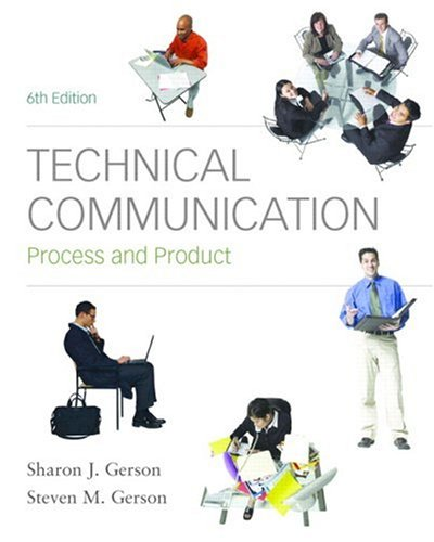9780136154754: Technical Communication: Process and Product (6th Edition)