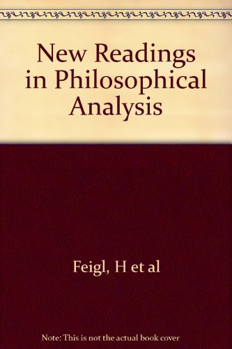 9780136155263: New Readings in Philosophical Analysis