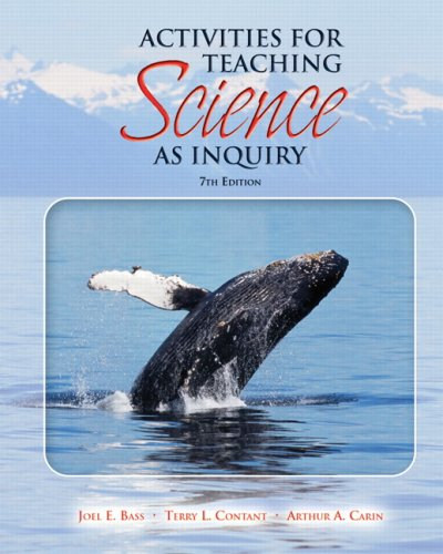 9780136156802: Activities for Teaching Science as Inquiry (7th Edition)