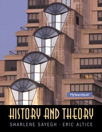 9780136157250: History and Theory