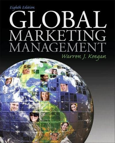 9780136157397: Global Marketing Management