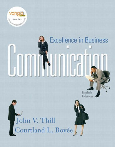 9780136157502: Excellence in Business Communication (8th Edition)