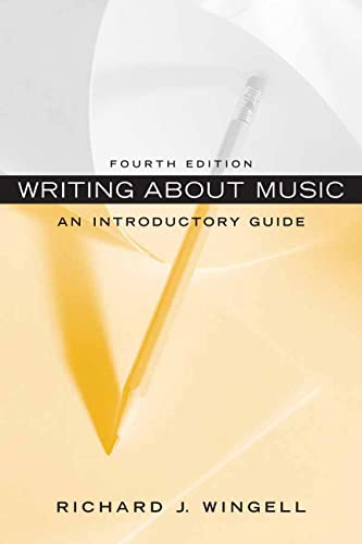 9780136157786: Writing About Music: An Introductory Guide (4th Edition)